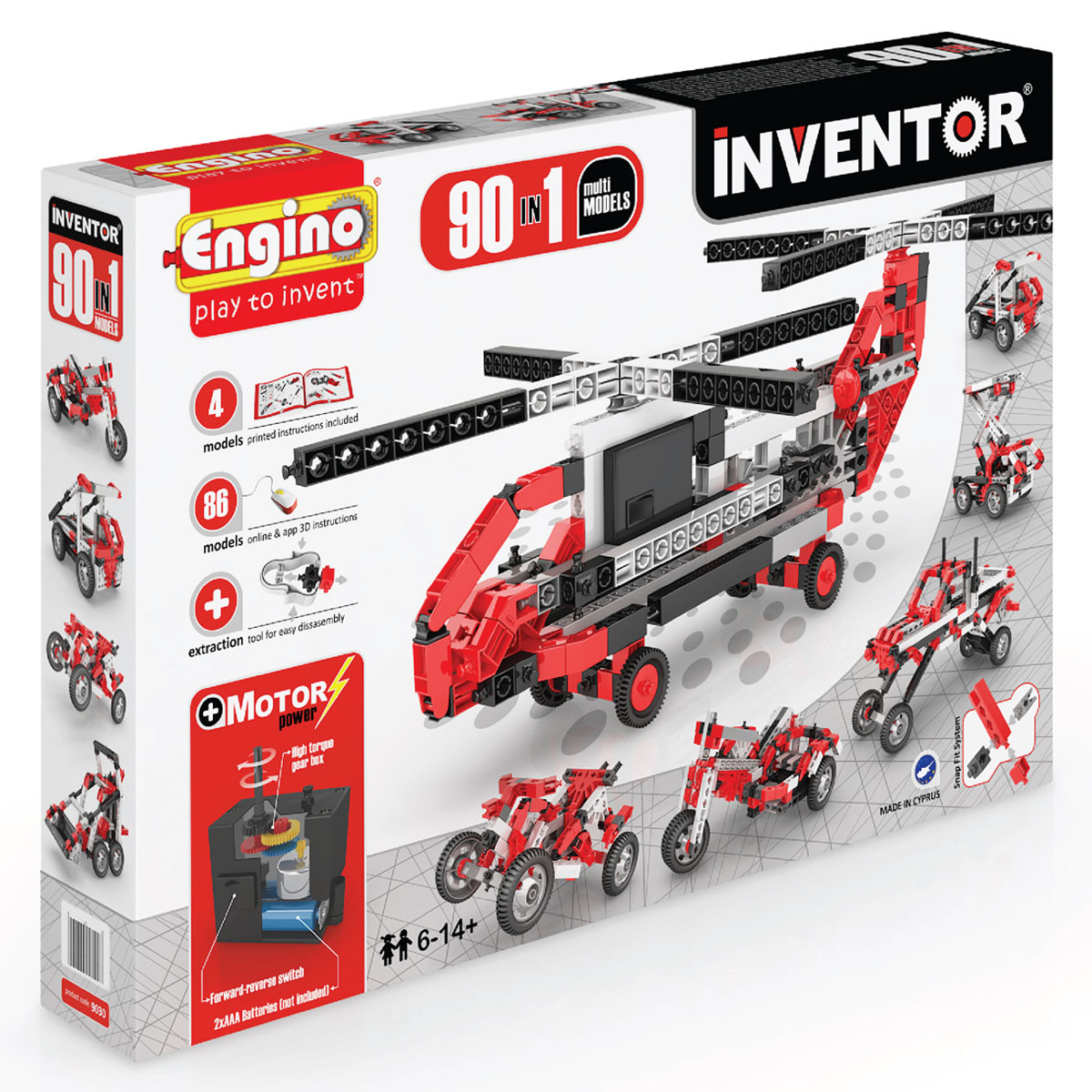 INVENTOR 90in1 MODELS MOTORIZED