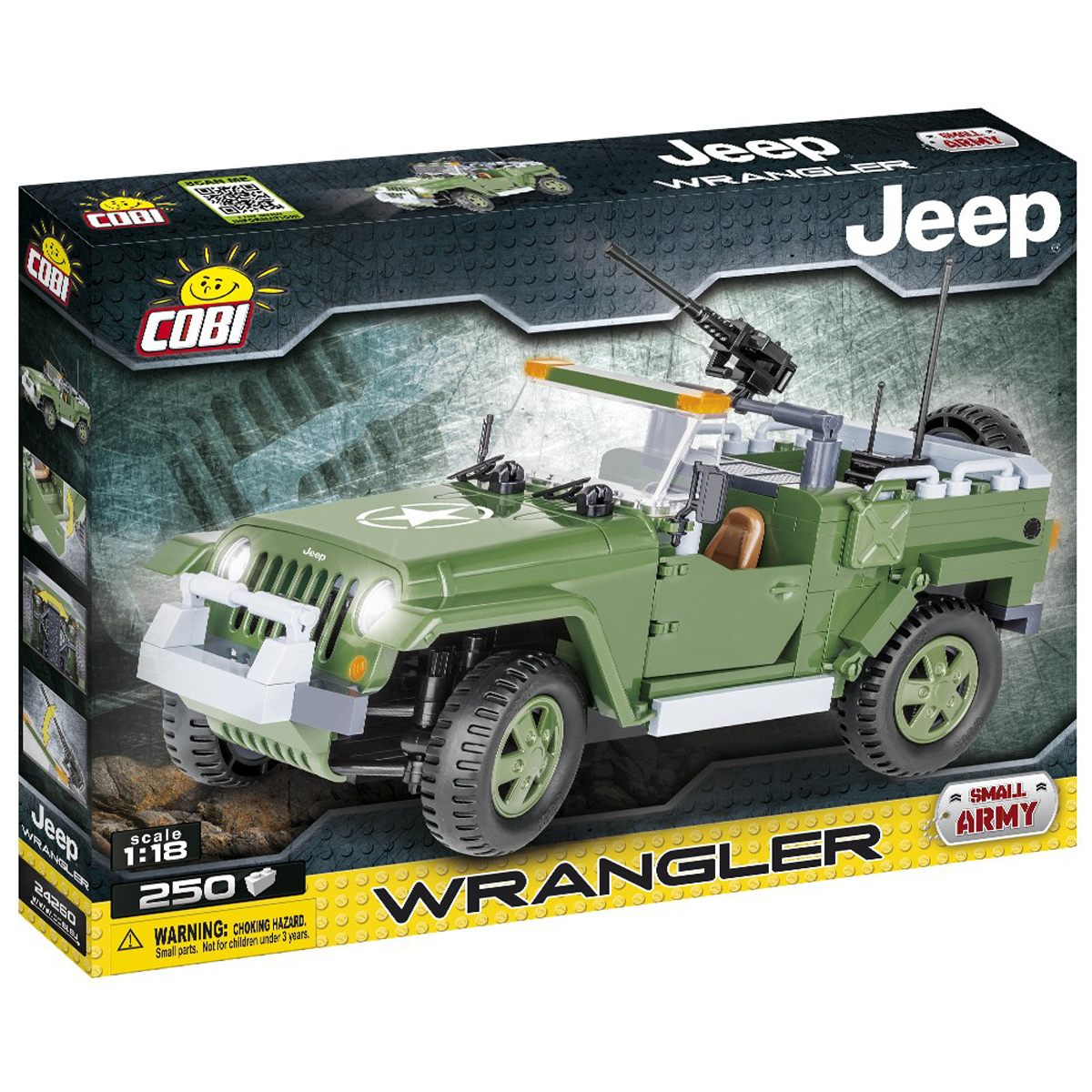 JEEP WRANGLER SMALL ARMY
