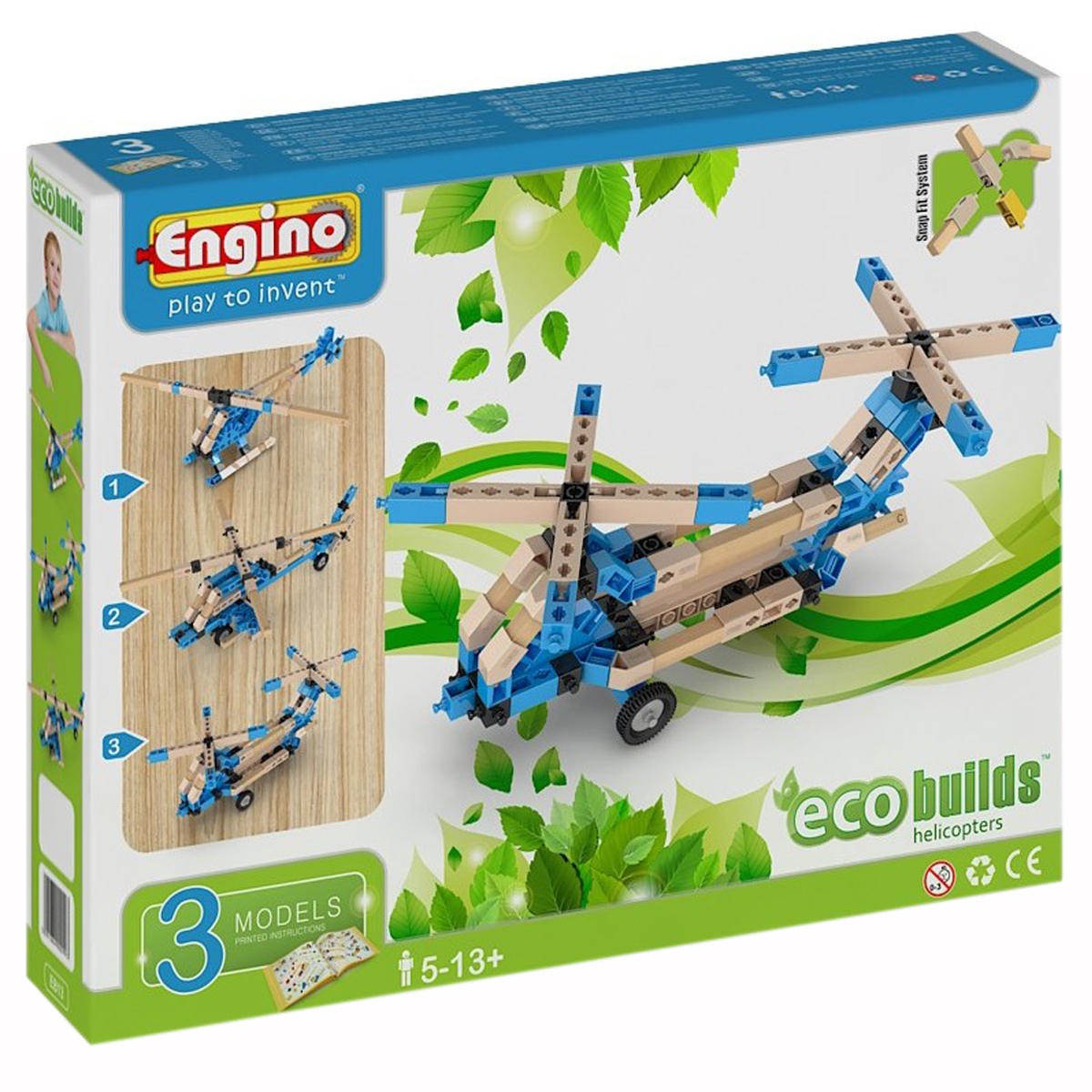 ECO HELICOPTER 3 MODELS